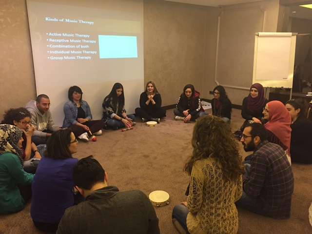 Music Therapy & Stress Management - Beirut