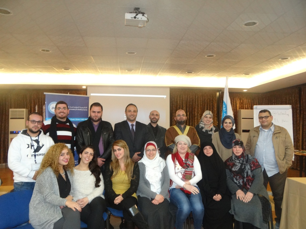 Training of Trainers TOT Saida